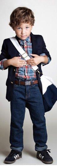 Super stylish toddler