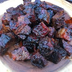 Brisket Burnt Ends Brisket Burnt Ends! Have you always wanted to learn how to make brisket burnt ends? Arthur Bryant's in KC originated burnt ends & we are happy to share our take! Beef Brisket Recipes, Bbq Brisket, Smoked Beef Brisket, Traeger Recipes, Smoked Meat Recipes, Grilling Recipes, Texas Brisket, Pork Belly Recipes, Gastronomia