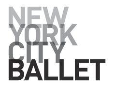 New York City Ballet by Pentagram - Paula Scher Paula Scher, Ted Talks, Logo Studio, Ballet Posters, Dance Logo, Ballet Companies, City Ballet, Photoshop, Dance Company