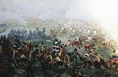 Horse Guards Regiment (ru) at the Battle of Fère-Champenoise on 13 March oil on canvas — Military Historical Museum of Artillery, Engineers and Signal Corps. Military Art, Military History, Military Uniforms, Military Weapons, Empire, Le Colonel Chabert, Battle Of Borodino, Bataille De Waterloo, Oil On Canvas
