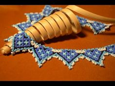 "Колье из бисера ""Силянка"". Бисероплетение. Мастер класс / necklace of beads. Beading. - YouTube"