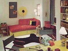 Camera Da Letto Vintage Anni 70 : Camere da letto vintage idee di arredamento che vi stupiranno