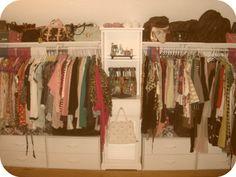A walk-in closet DIY!