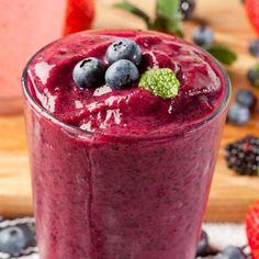 Organic Blueberry Smoothie Recipe