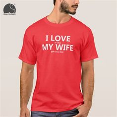 I Love My Wife - Red