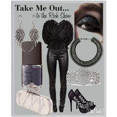 Rock Show, created by michele-cortes on Polyvore