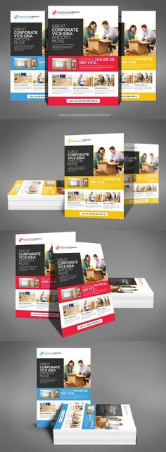 Moving House Flyer Psd Template