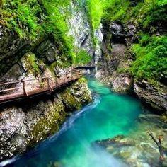 lVintgar Gorge, Slovenia