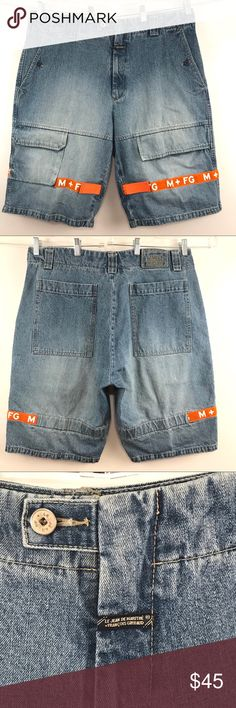 f13397cc28 Marithe Francois Girbaud Denim Shorts Jean Vintage These vintage Marithe  Francois Girbaud are in very good condition with no rips, stains or damage.