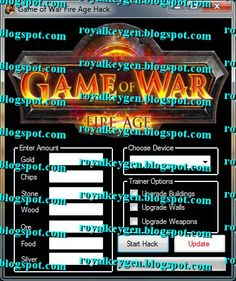 Royal Cheats: Game of War Fire Age Hack Tool [FREE] [Unlimited Gold, Chips and Resources]