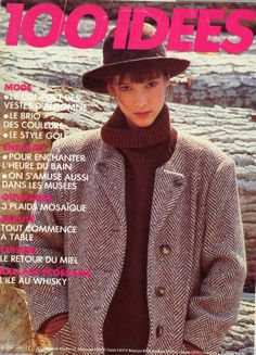 100 Idées n° 156 - octobre 1986 - couverture - photo Gilles de Chabaneix.