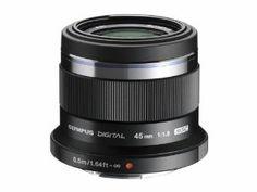 Olympus M.Zuiko Digital 45 mm 1:1.8 versione nera!