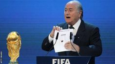Former  Fifa president Sepp Blatter revealed Qatar had beaten Australia Japan  South Korea and the United States in their bid to host the 2022 World  Cup.  A fake  news story claiming Arab nations had demanded that Fifa strip Qatar of  the 2022 World Cup appeared on a website designed to look like a  credible Swiss news publication.   The story appeared to surface on 'The Local' website and said six nations called Qatar 'the base of terrorism'. Fifa have dismissed quotes that were accredited…