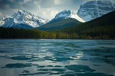 "Waterfowl Lake - Banff 10"" x 15"" Fine Art Print in a 16"" x 20"" Mat on Etsy, $24.00"