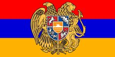 Flag of Armenia - Coat of Arms