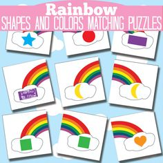 This Printable Rainbow Color and Shape Learning Puzzles is a part of the busy bag blog hop all about rainbows. If you scroll down to the end of the post you will find a lot more easy to set up busy bag ideas all with rainbow theme and one more gorgeous than another. All of...Read More »