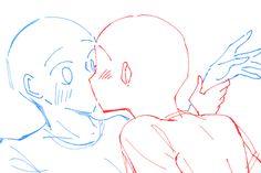 Ship Drawing, Drawing Base, Manga Drawing, Anatomy Drawing, Figure Drawing Reference, Anime Poses Reference, Hand Reference, Anime Drawings Sketches, Couple Drawings
