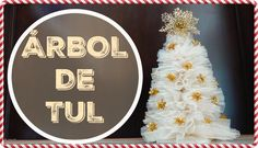 ARBOL DE NAVIDAD DE TUL | TULLE CHRISTMAS TREE