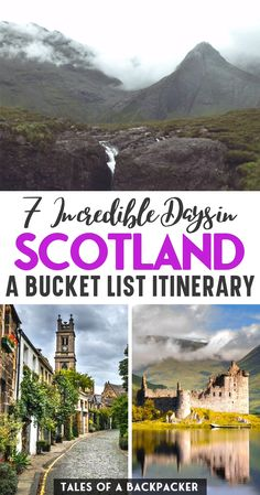 The Perfect 7 Day Scotland Itinerary