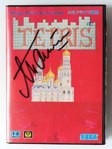 Signed TETRIS box $1000000 #ebay #retro #crazy #SEGA