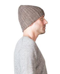 Kaschmir Mütze taupe melange Winter Hats, Beanie, Fashion, Cashmere Beanie, Black, Moda, Fashion Styles, Beanies, Fasion