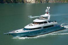 Superyacht NETTO - Photo by Neil Rabinowitz