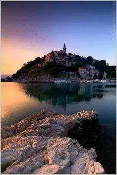 Good morning from Vrbnik on the island of Krk
