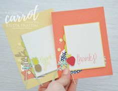 Stampin' Dolce: All Things Thanks - Tutti Frutti bundle, Up