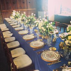 Gold table in the Castle