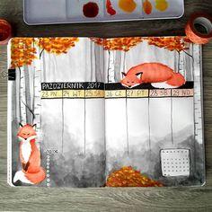 littleeviti Tygodniówka w jesienne liski (Weekly in autumn foxes)