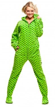 scooby doo adult footie pajamas with hood $ 38.00   Yep. That's so ...