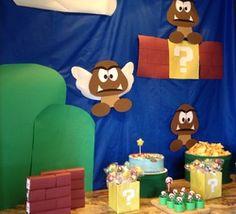 """Super Mario / Birthday """"Super Mario Birthday Party""""   Catch My Party"""