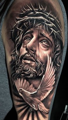 """Can we go to Heaven with Tattoos""""? Did Jesus had tattoos? Heaven Tattoos, God Tattoos, Body Art Tattoos, Tribal Tattoos, Tattoos Skull, Forearm Sleeve Tattoos, Best Sleeve Tattoos, Tattoo Sleeve Designs, Angel Tattoo Designs"""