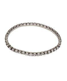 925 STERLING SILVER ADJUSTABLE STRAND BRACELET W// 1.50 CT LAB DIAMOND
