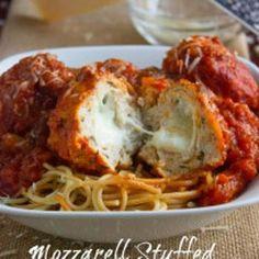 Stuffed Turkey Meatballs Recipe - Brown Sugar & ZipList