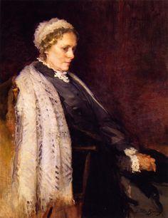 Eliza S. Turner (Cecilia Beaux - 1897)