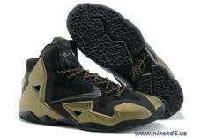 reputable site 971f5 12ace Bronze Black 616175-001 Nike LeBron 11 Outlet Kobe Shoes, Jordan Shoes, Nike