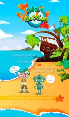 Dilan y Gongon Propuesta programa TV on Behance