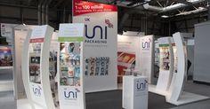 Custom built exhibition stand #Exhibitionbrandpresence