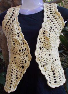 Sweet Nothings Crochet: CUTE PINEAPPLE BOLERO