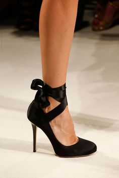 shoes Noir Talons