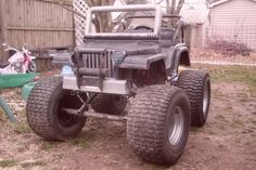 Im building a lifted power wheels jeep....