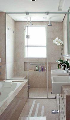 dusche vor dem fenster | badezimmer insp. | pinterest | news, Hause ideen