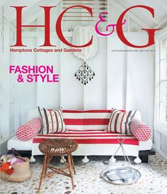 HC&G Sep/Oct cover featuring the decorating duo Design House. #HC&G
