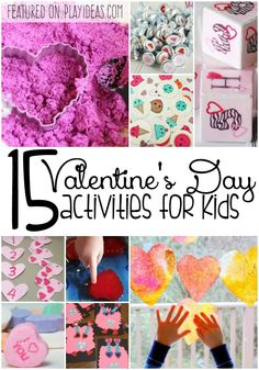 Valentine's Day is such a great holiday for kids! Celebrate the day of love with these 15 Valentine's Day activities for kids!