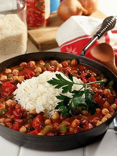 Make the most of Meatless Monday with this low-calorie dish. A flavorful combo of savory spices and tasty veggies will make this your go-to chili recipe in no time.  Get the recipe  - WomansDay.com