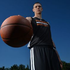 Alex Len of the Phoenix Suns poses for a portrait during the 2013 NBA Rookie Photo Shoot on August 6, 2013 at the MSG Training Facility in Tarrytown, New York. (Photo by Jesse D. Garrabrant/NBAE via Getty Images)