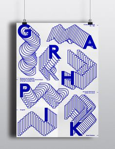 """Check out this @Behance project: """"Poster – Graphik"""" https://www.behance.net/gallery/31081175/Poster-Graphik"""