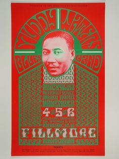 El origen de los carteles psicodélicos de los 60