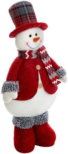 Figuras navideñas · LEROY MERLIN Christmas Elf Doll, Christmas Sewing, Christmas Projects, Christmas Fabric, Gold Christmas Decorations, Christmas Ornaments, Holiday Decor, Teddy Bear Crafts, Felt Doll Patterns